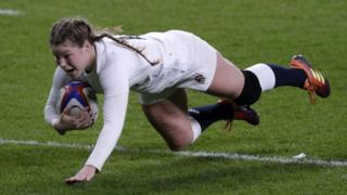 England's Jess Breach
