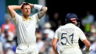 James Pattinson and Jonny Bairstow