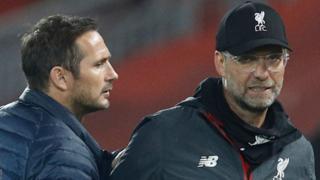 Frank Lampard and Jurgen Klopp