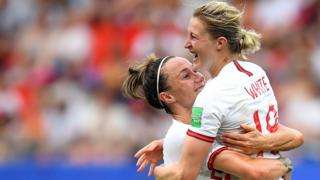 Lucy Bronze and Ellen White