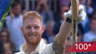 Stokes century helps England take lead past 250