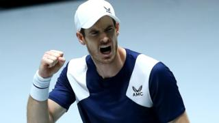 Andy Murray has not played since the Davis Cup event in November