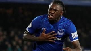 Kean scores for Everton