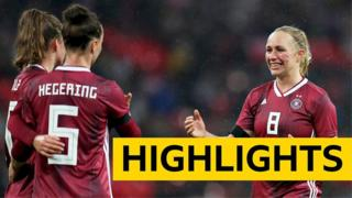 Highlights: England 1-2 Germany