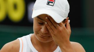 World number one Ashleigh Barty