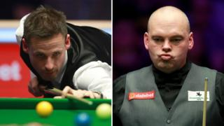David Gilbert (left) and Stuart Bingham