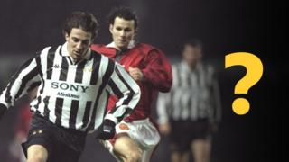 Alessandro del Piero and Ryan Giggs