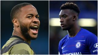 Sterling and Hudson Odoi