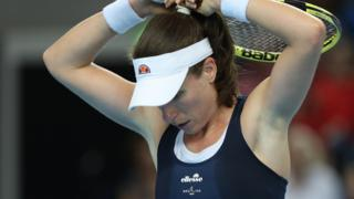Johanna Konta loses first clay-court final