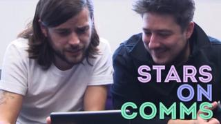 Mumford and Sons try football commentary