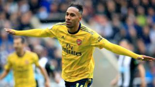 Pierre-Emerick Aubameyang of Arsenal