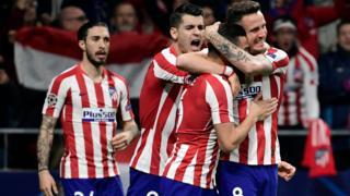 Atletico celebrate