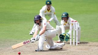Heather Knight in action for England