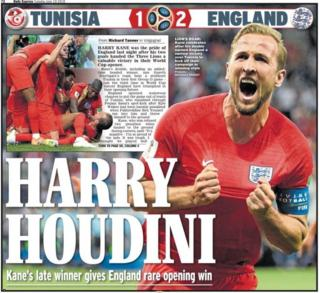 Tuesday's Daily Express