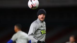 Leicester's Jamie Vardy