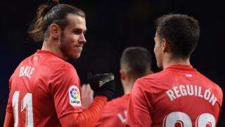 Gareth Bale and Sergio Reguilon
