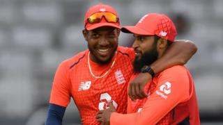 Chris Jordan and Adil Rashid