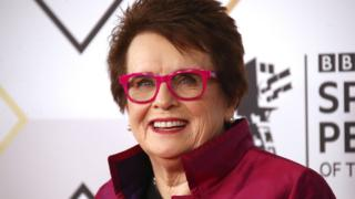 Billie Jean King at BBC Sports Personality of the Year 2018