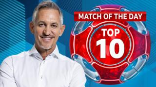 Match of the Day Top 10 logo