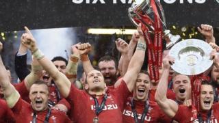 Wales celebrate 2019 Grand Slam