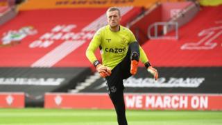 Everton's Jordan Pickford