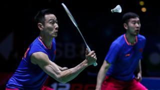 China's Liu Cheng and Zhang Nan