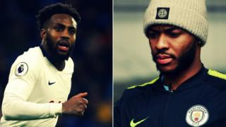 Danny Rose and Raheem Sterling