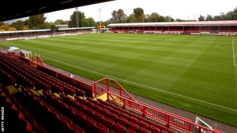 Crawley Town's Checkatrade Stadium