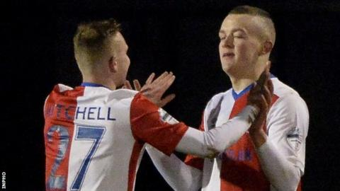 Linfield's 2-0 win over Newry City on Tuesday put them six points clear at the top