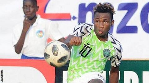 4cd60b8ca4f Samuel Chukwueze  Youngster says Nigeria debut fulfils a dream - BBC ...