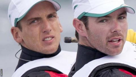 Ryan Seaton and Matt McGovern