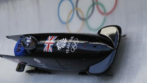 Brad Hall British bobsleigh
