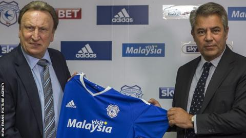 Neil Warnock (left) and Mehmet Dalman