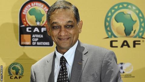 Confederation of African Football vice-president Suketu Patel
