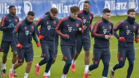 Bayern Munich resumes first team training