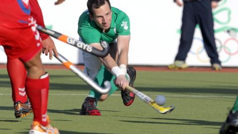 Peter Caruth scored Ireland's opener against Malaysia