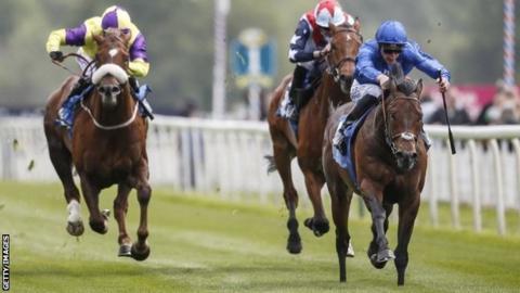Harry Angel wins at York