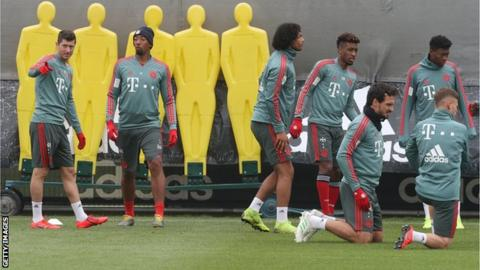Bayern stars trade punches in training ground squabble