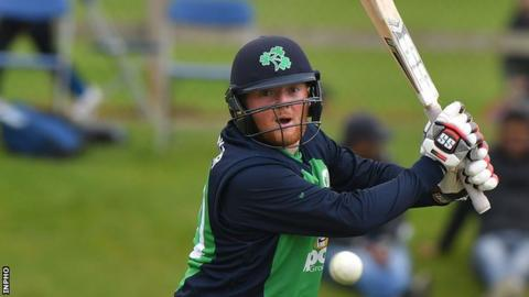 Stuart Poynter's final-ball six earned Ireland a remarkable win over the Netherlands