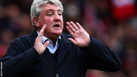 Hull City manger Steve Bruce