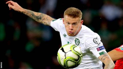 James McClean started in all 10 Euro 2020 qualifiers for the Republic of Ireland