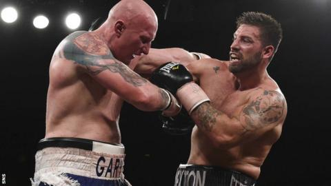 Gary Cornish could not land a knockout blow on Sam Sexton