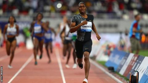 Caster Semenya: IAAF wants 'swift reversal' of Swiss court's