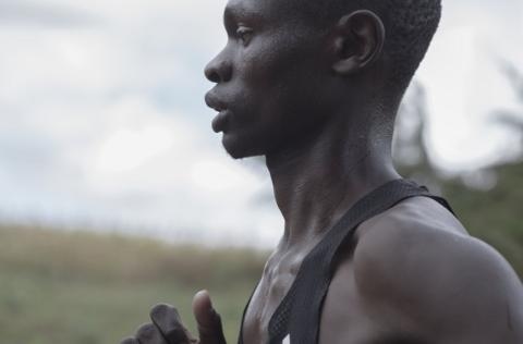 in_pictures Cornelius Kemboi out training
