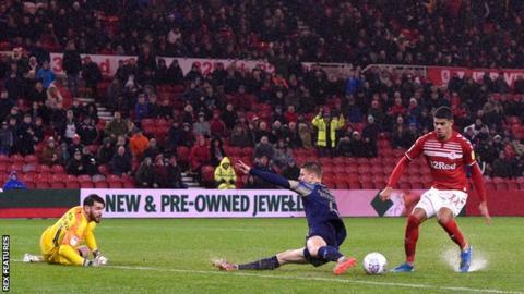 Ashley Fletcher scores