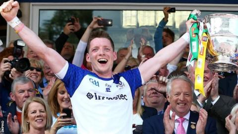 Monaghan won the Ulster Championship in July 2015
