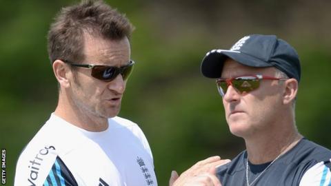 Kevin Shine and Graham Thorpe