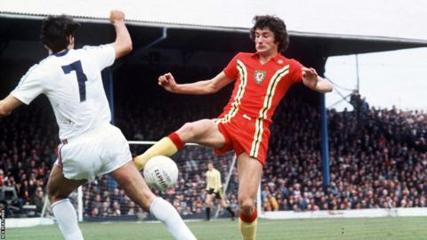 Wales lost in a two-legged quarter final to Yugoslavia, with the second leg at Ninian Park a controversial afternoon.