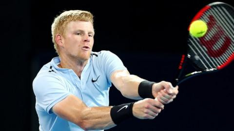 Kyle Edmund crashes out to Grigor Dimitrov after nasty fall in Brisbane