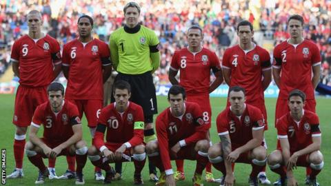 Wales players wore poppies on their armbands in the 2011 friendly win over Norway
